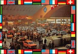 """010650 """"TORINO - SALONE DELL' AUTOMOBILE - ANNI '60""""  ANIMATA, AUTO CHEVROLET, WOLSELET, SOLEX, FIAT..... CART NON SPED - Italia"""