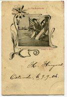 CPA - Carte Postale - Belgique - La Vie Balnéaire - Avant Le Bain - 1904 (D12395) - Oostende