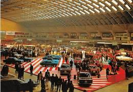 """010651 """"TORINO - SALONE DELL' AUTOMOBILE - ANNI '60""""  ANIMATA, AUTO FIAT, FORD, LANCIA, NOVOLAN..... CART NON SPED - Italia"""