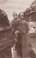 Armée Belge Pervyse S.M. Albert Aux Tranchées - Guerre 1914-18