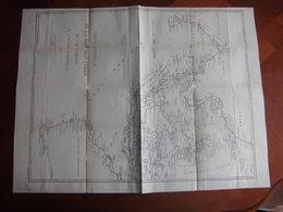 Océan Indien : Grande Carte Dépliante De 1888 Par Jurien De La Gravière - Cartas Náuticas