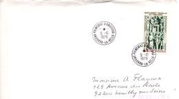 ANDORRE N°280 SUR LETTRE POUR LA FRANCE 1979 - Cartas