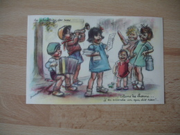 Germaine Bouret   Edition Eaec Le Chanteur Des Rues Alons Les Choeurs - Bouret, Germaine