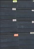 Hawid Einsteckkarten  C6  Schwarz 200 Stück Gebraucht - Stockbooks