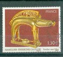 FRANCE - N° 4060 Oblitéré Cachet Rond -Sanglier-enseigne Gaulois - France