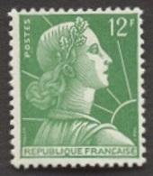 France N°1010 Neuf ** 1955 - France