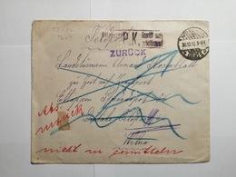 Deutsches Reich  Feldpostbrief 1918 - Allemagne