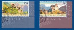 Liechtenstein  2017 Mi.Nr. 1839 / 40 , EUROPA CEPT Burgen Und Schlösser - Schloß Vaduz - Gestempelt / Fine Used / (o) - 2017