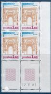 "FR Coins Datés Service YT 68 "" UNESCO 1F40 "" Neuf** Du 12.11.81 - Dienstpost"