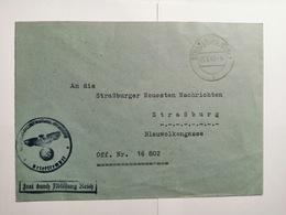 Deutsches Reich  Briefumschlag 1941 - Allemagne