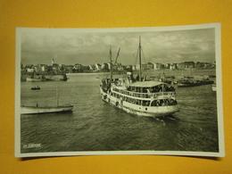 Quiberon Arrivée Du Bâteau De Belle île En Mer Morbihan 56 Non écrite Sans Doute 1939,très Bel état,envoi En Lettre écon - Quiberon