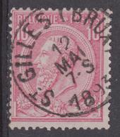 N° 46 St. Gilles ( Brux ) 1893 - 1884-1891 Leopold II.