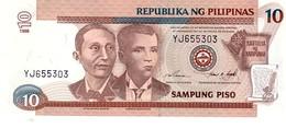 Philippines P.187c   10 Piso 1998  Unc - Filippine