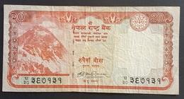 EM0505 - Nepal 20 Rupees Banknote 2008 - Nepal