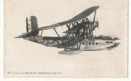 AVIATION )) Hydravion BREGUET     BIZERTE   TYPE 521 - Avions