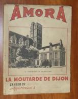 PROTÈGE CAHIER - Moutarde De Dijon AMORA  - 18 X 24 - Mauvais état : Voir Photos - 03 - Protège-cahiers