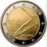 Finland 2011    2 Euro Commemo   200 J Bank Van Finland    UNC Uit De Rol  UNC Du Rouleaux  Zeldzaam Extreme Rare !! - Finlande