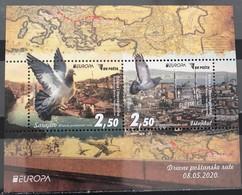 Bosnia And Hercegovina, 2020,Europa Cept, Ancient Postal Routs, Block (MNH) - Europa-CEPT