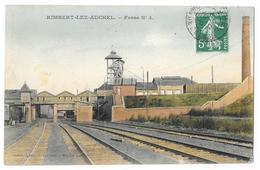 Cpa: 62 RIMBERT LEZ AUCHEL (ar. Bethune) Fosse N° 4 (Mine De Charbon) 1910  Ed. Louchart - Altri Comuni