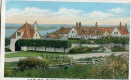 """ CHERRY NECK "" , RESIDENCE OF MRS WORTHAM JAMES, NEWPORT, R. I. - Newport"