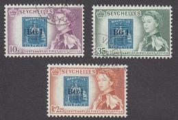 Seychelles 1961 3 Values   SG193  To SG195    Used - Seychellen (...-1976)