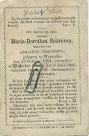 Westerlo -  Oosterlo ( Geel )  Maria Schroven :  1791 - 1868 - Images Religieuses