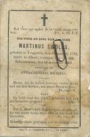 Tongerlo - Geel  :  Matinus Swolfs  1782 - 1863 - Images Religieuses
