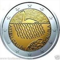 Finland 2015    2 Euro Commemo Akselia Kallela      UNC Uit De Rol  UNC Du Rouleaux !! - Finlande