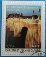 France 2009 : Série Artistique. Le Pont-Neuf à Paris, Empaqueté Par Christo Et Jeanne-Claude N° 338 Oblitéré - Frankreich
