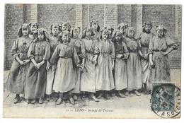 Cpa: 62 LENS - Groupe De Trieuses De Charbon (Cafus) N° 11  1911 - Lens