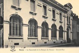 SENS : La Succursale De La Banque De France, Grande-rue - Tres Bon Etat - Banques
