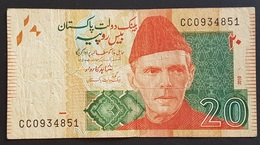 EM0505 - Pakistan 20 Rupees Banknote 2010 - Pakistán