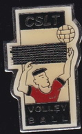 64870 -Pin's-cslt-volleyball.Tarare.Rhône En Région Auvergne- - Voleibol
