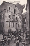 ROQUEFORT - La Sortie Des Cabanières - Roquefort