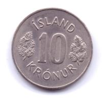 ICELAND 1978: 10 Kronur, KM 15 - Islande