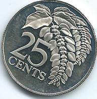 Trinidad & Tobago - 1975 - 25 Cents - KM28 - With Mintmark - Trinité & Tobago
