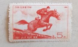 CHINE Chevaux, Cheval, Horse, Caballo, Hippisme, Saut D'obstacles. 1 Valeur  * MLH - Horses
