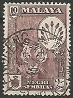 MALAISIE / NEGRI-SEMBILAN N° 66 OBLITERE - Negri Sembilan