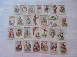 LOT 28 IMAGES CHOCOLAT LORRAIN P.EVRARD NANCY - Vieux Papiers