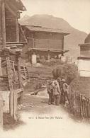 SAAS-FÉE - Un Groupe D'enfants Dans Le Village - VS Valais