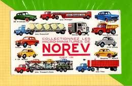 BUVARD & Blotting Paper :Collectionnez Les Micro Miniatures De NOREV Voitures  Et Camions  Ds19  2Cv  Renault Autres - Automóviles