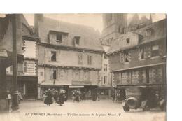 Vannes (Morbihan), Vieilles Maisons De La Place Henri IV - Vannes