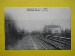 Circuit De La Sarthe ,Gare De Saint-Mars La Briere - France