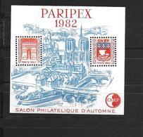 FRANCE PARIPEX 1982 NEUF ** SALON PHILATÉLIQUE D'AUTOMNE - CNEP