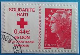 France 2010  : Solidarité Haïti N° 388 Oblitéré - France
