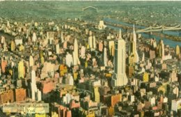 AERIAL VIEW OF MIDTOWN - NEW YORK - Multi-vues, Vues Panoramiques