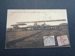Guerre ( 736 ) Oorlog 1914 - 1918  Guerre :  Aéroport  Italie  Italia  Vliegtuig  Avion - 1914-1918: 1st War