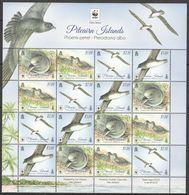 Pitcairn, 2016. Birds, WWF (sheet) - Neufs