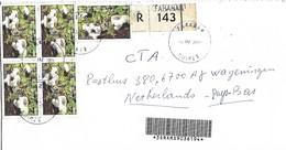 Guinee Guinea 2004 Faranah Tiger Sawgill Mushroom Lentinus Tigrinus Registered Cover - Guinea (1958-...)