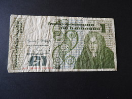 Banknote Republik Irland  1 Pound  1984 Gebr. - Irlanda